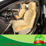 Tampa de assento do carro da pele de carneiro