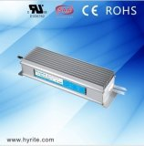 24V 100W IP67 Impermeável LED Alimentação para Signage com CE SAA
