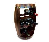 Legno reale 8 bottiglie della cremagliera del vino rosso