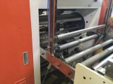 Saco de compra biodegradável automático cheio do Polythene do t-shirt de pano do lixo que faz a máquina