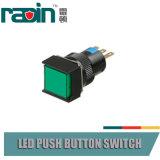 het Comité van 30mm 16mm zet Drukknop van de Schakelaar van de Hefboom van de Indicator de Lichte op