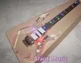 Música de Afanti/guitarra elétrica leve acrílica do diodo emissor de luz (AAG-022)