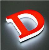 La lettre acrylique lumineuse par 3D de la coutume DEL signe (FLC-67)