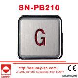 Botón colorido empuje Ascensor para Hyundai (SN-Pb210)