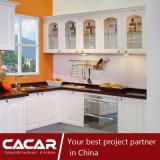 Positano Modern Warm Style Plastic Uptake Gabinete de cozinha em PVC (CA12-12)