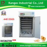 Incubateur bon marché économiseur d'énergie d'oeufs pour hacher 440 oeufs