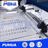 Cer-Qualitätsgefahrene 4 Mittellinie CNC-Drehkopf-Locher-Servomaschine