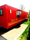 Самомоднейшая Prefab дом контейнера для перевозок Flatpack для села праздника