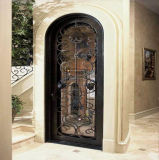 実行中ガラスとの工場価格の鉄の単一のドア