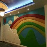 3D panneau de mur de panneau de plafond de titre de mur de panneau de décoration de l'écran antibruit 600*600