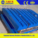 Hohe Mangan-Stahl-kundenspezifische werfende Zerkleinerungsmaschine-Ersatzteile