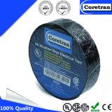 Ruban adhésif isolant électrique noir de PVC