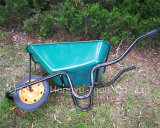 Wheelbarrow da bandeja do metal