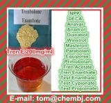 강한 기능 주사 가능한 스테로이드 기름 Trenbolone Enanthate 200 Mg/Ml