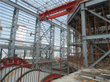 倉庫および研修会(ZY268)のためのプレハブの大きいスパンの鉄骨構造