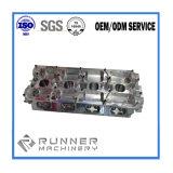 Pièces Drilling de fraisage de rotation de usinage de machine d'acier du carbone de commande numérique par ordinateur de précision