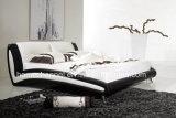 현대 가정 가구 디자인 가죽 침대 Hcb002