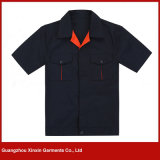 Wholesale Summer Short Sleeve Working Jackets for Garments Men (W102)