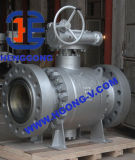 API/DIN a modifié le robinet à tournant sphérique à haute pression de bride de l'acier A105