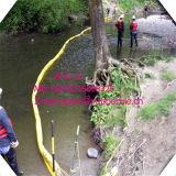 Auge derramado petróleo de goma del conector de ASTM, barrera de la alga marina de Resistanubber del petróleo