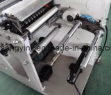 タレットのRewinder機械によって明白なラベルの回転式型抜き