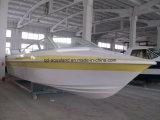 Aqualand 28feet 8.6m Bateau à moteur en fibre de verre / bateau de patrouille de vitesse / bateau de sauvetage (860)