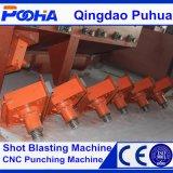 Drehscheibe Type Shot Blasting Machine für Wheel Hub Strengthening