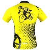 Bicicleta curta Jersey da estrada de ciclagem da luva de Honorapparel