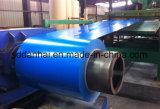 Vorgestrichenes galvanisiertes Stahlring-rotes weißes Blau