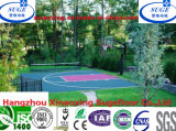 Suspended Modular Interlocking Basketball Roller Flooring