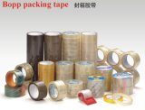 Adhesive e Single acrílicos Sided BOPP Brown Packing Tape para Carton Sealing