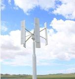 Turbine de vent verticale de Vwat 3kw de générateur de vent de panneau solaire de contrôleur hybride