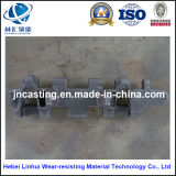 Tarjeta de la oruga/desgaste - placa resistente de la pista del bastidor