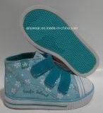 Chaussures courantes de sport d'enfants de chaussures de toile de la fille (415-9435)