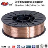 銅の上塗を施してある合金の穏やかな鋼鉄Aws A5.18 Er70s-6の二酸化炭素アークMagミグ溶接ワイヤー