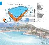 Usine en matériel de piscine de vente