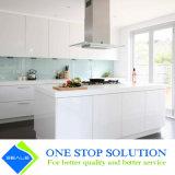 Alto armadio da cucina bianco della mobilia dell'armadietto di rivestimento della lacca di lucentezza (ZY 1182)