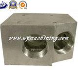 Fazer à máquina de alumínio de alumínio fazendo à máquina personalizado do CNC do metal