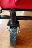 折るキャンプワゴンまたはカートの折りたたみ丈夫な鉄骨フレーム