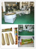 Getreide Bar Oat Meal Chocolate Automatic Food Feeding und Packing Machine
