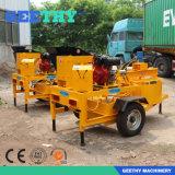 Machine de bloc d'argile de machine de fabrication de brique de moteur diesel de M7mi