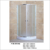 Acid Glass Sliding Door Shower Room for Hotel and Home