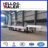 販売のための機械交通機関のLowbedの重いトレーラー