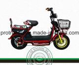 Motocicleta eléctrica de dos ruedas con la velocidad 45km/H