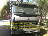 Dumper de tombereau de camion à benne basculante des roues HOWO A7 8X4 de Sinotruk 12, 50-60 tonnes, 371HP, dormeur de Rhd/LHD un, euro II