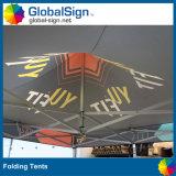Promotion de haute qualité 3 M * 3 M Promotion Pop up Tente pliante en acier