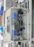 Grande fio da micro precisão/máquina de estaca de friso do cabo horizontalmente elétrico