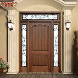 Antique Arts Crafts 1d + 2SL Porte intérieure en bois pour maison (GSP1-032)