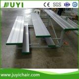 경기장을%s Jy-717 옥외 알루미늄 Bleachers 옥외 휴대용 알루미늄 벤치