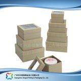 食糧ケーキ(xc-fbk-028A)のためのかわいいボール紙のペーパー包装ボックス